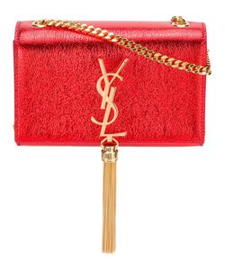 Saint Laurent | Small Monogram Kate Tassel Satchel Bag Leather/Brass