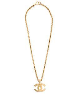 Chanel Vintage | Logo Pendant Necklace