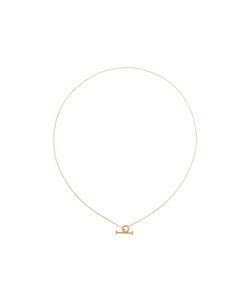 BY BOE | Circle Pin Lariat Necklace