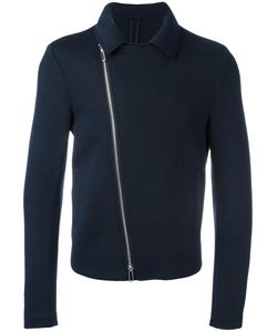 Emporio Armani | Zip Up Biker Jacket Large Wool/Polyamide