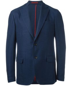 Salvatore Ferragamo | Basket Weave Sport Jacket 52 Cotton/Cupro