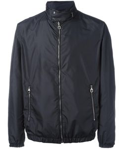Salvatore Ferragamo | Band Collar Double-Sided Jacket 48 Polyester/Polyamide