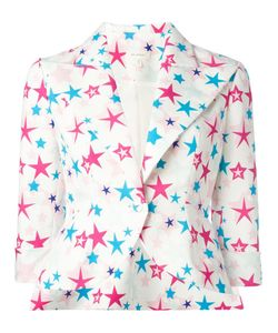 Delpozo | Star Print Blazer 38 Cotton/Viscose