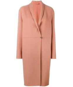 Luisa Cerano   Shawl Lapel Open Coat 40 Wool/Polyamide/Cashmere/Polyester