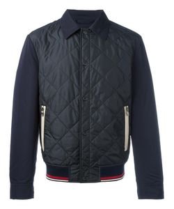 Salvatore Ferragamo | Quilted Bomber Jacket 52 Polyester