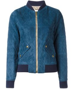 Chloe | Chloé Quilted Bomber Jacket 36 Lamb Skin/Polyester/Wool