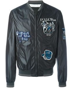 Dolce & Gabbana | Musical Patch Bomber Jacket 50
