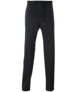 Emporio Armani | Drawstring Track Pants 48 Virgin Wool