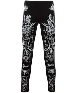 Givenchy | Tattoo Print Leggings Medium Cotton