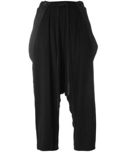 Lost & Found Ria Dunn | Drop-Crotch Cropped Trousers Small