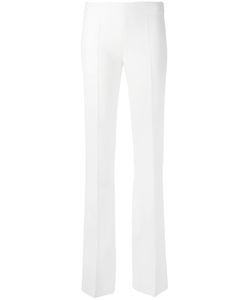 Antonio Berardi | Tailored High-Waisted Trousers 42 Rayon/Spandex/Elastane