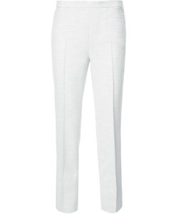 Akris Punto | Straight Cropped Trousers 8 Polyester/Viscose/Cotton