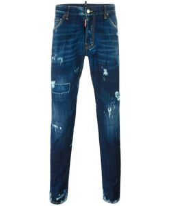 Dsquared2 | Cool Guy Lightly Distressed Jeans 44 Cotton/Spandex/Elastane/Calf