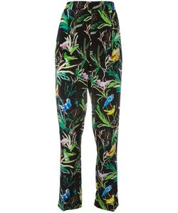 No21 | Botanical Print Trousers 40 Silk