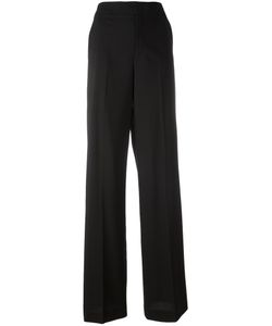 Red Valentino | Straight Tailored Trousers 38 Virgin Wool/Spandex/Elastane/Polyester/Acetate