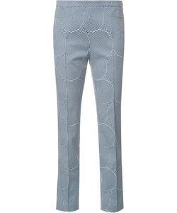 Akris Punto | Franca Cropped Pants 12 Cotton/Spandex/Elastane