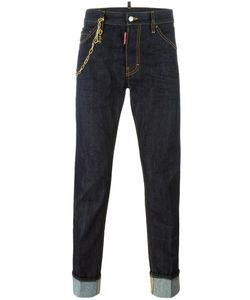 Dsquared2 | Cool Guy Chain Trim Jeans 48 Cotton/Polyester