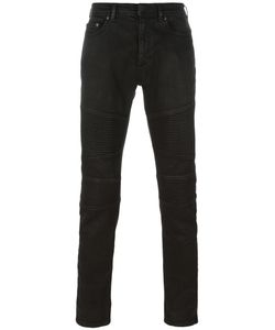 Neil Barrett | Ribbed Panelled Jeans 34 Cotton/Polyurethane