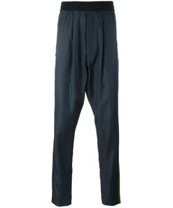 Haider Ackermann | Drop-Crotch Track Pants Medium Cotton/Viscose/Rayon