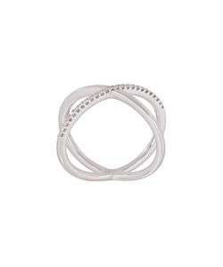 Alinka | Katia Super Fine Single Cross Over Ring Medium