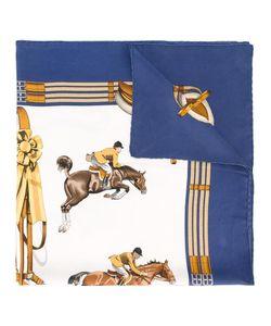 Hermès Vintage | Horse Print Scarf Adult Unisex