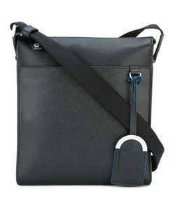 Bulgari | Front Pocket Messenger Bag Calf Leather