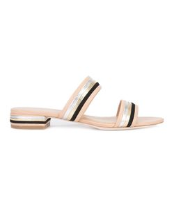 Loeffler Randall | Rubie Sandals 10 Calf Leather/Goat Skin/Leather