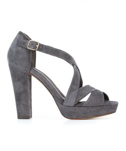 Tila March | Nevada Sandals 38 Goat Suede/Leather