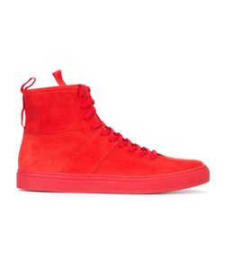Daniel Patrick | Lace-Up Hi-Tops 41 Suede/Rubber