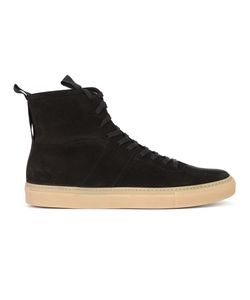 Daniel Patrick | Lace-Up Hi-Tops 44 Suede/Rubber