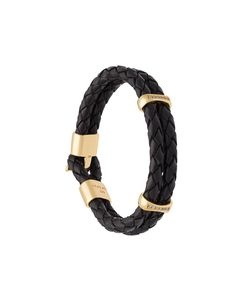 Nialaya Jewelry | Interlaced Leather Bracelet
