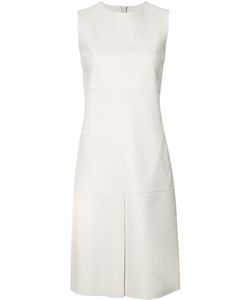 Jil Sander | Slit Detail Shift Dress 34 Lamb