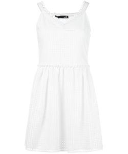 Love Moschino | V-Neck Dress 42 Cotton