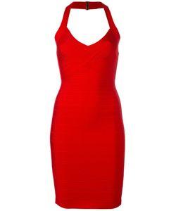 Hervé Léger | Adrienne Dress Small Rayon/Nylon/Spandex/Elastane