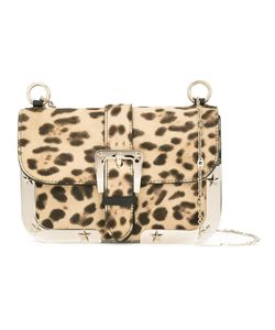 Red Valentino | Animal Print Crossbody Bag Leather/Calf Hair