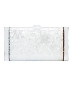 EDIE PARKER | Lara Backlit Clutch Acetate