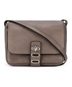 Tila March | Manon Postier Shoulder Bag Leather/Cotton