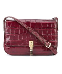 Elizabeth And James | Crocodile-Embossed Satchel Acetate
