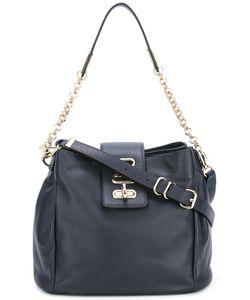 Tila March | Manon Shoulder Bag Leather/Cotton