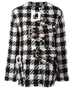 Dolce & Gabbana | Checked Boxy Coat 36 Virgin