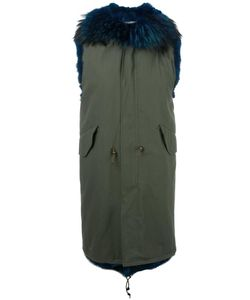Furs66 | Murmansky Sleeveless Parka 42 Cotton/Raccoon Dog/Coyote Fur