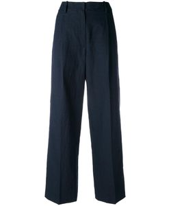 Forte Forte | Wide Leg Trousers 0 Cotton/Linen/Flax