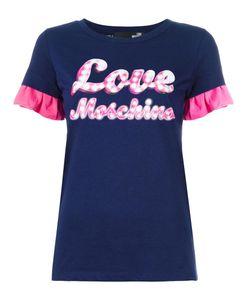 Love Moschino   Neon Print T-Shirt 40 Cotton