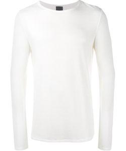Lot 78 | Lot78 Mesh Long Sleeve T-Shirt Small Viscose/Spandex/Elastane