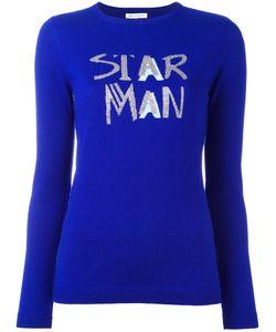 Bella Freud   Star Man Jumper Large Nylon/Viscose/Wool Fibre