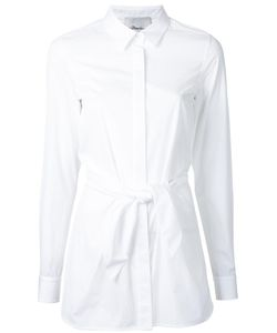 3.1 Phillip Lim | Fitted Knot Shirt 8 Cotton