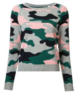 Chinti And Parker | Military Jumper Medium Mercerized Wool/Cashmere