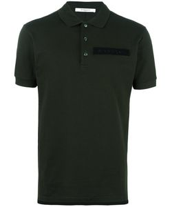 Givenchy | Logo Plaque Polo Shirt Medium Cotton