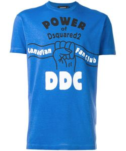 Dsquared2 | Power Of T-Shirt Xl Cotton