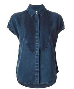 Rag & Bone/Jean | Rag Bone Jean Shortsleeved Shirt Large Tencel